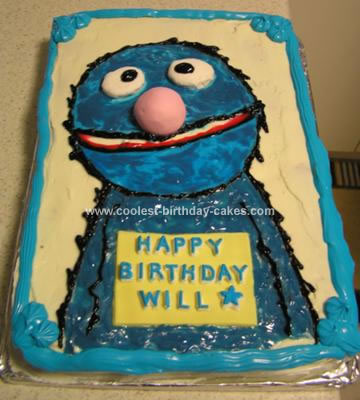 Homemade Grover Cake