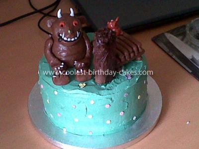 Homemade Gruffalo Cake