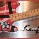 Homemade  Guitar Hero Birthday Cake