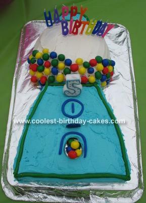 Z's Gumball Machine Cake