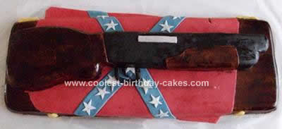 Homemade Gun Cake Ever