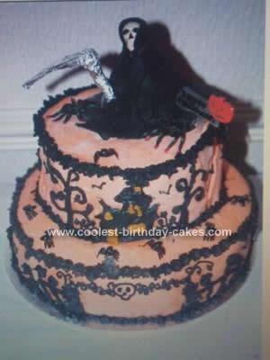 Homemade Halloween Cake Idea