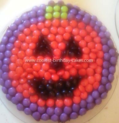 Halloween Cake Jack O Lantern