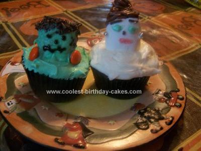 Homemade Halloween Cupcakes