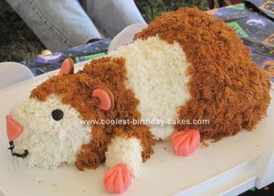 Homemade Hamster Cake