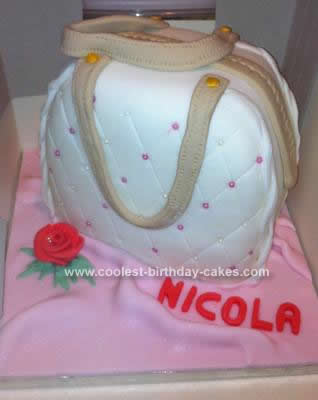 Homemade Handbag Cake