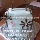 Homemade Handbag/Purse Birthday Cake Idea