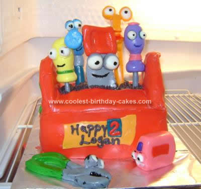 Remarkable Coolest Homemade Handy Manny Cakes Birthday Cards Printable Inklcafe Filternl