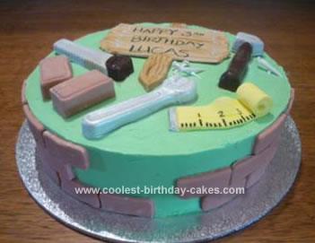Homemade Handyman Cake