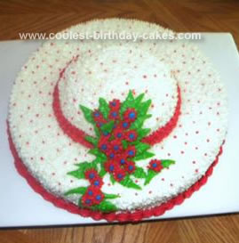Homemade  Hat Cake