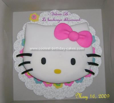 Pleasant Coolest Hello Kitty Birthday Cake Personalised Birthday Cards Cominlily Jamesorg