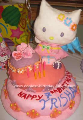 Swell Coolest Hello Kitty Birthday Cake Idea Birthday Cards Printable Benkemecafe Filternl