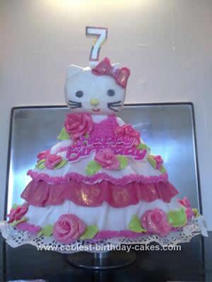 Awesome Coolest Hello Kitty Birthday Cake Idea Birthday Cards Printable Benkemecafe Filternl