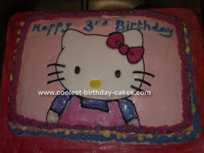 Coolest Hello Kitty Cake