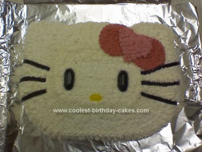 Homemade Hello Kitty Cake 84