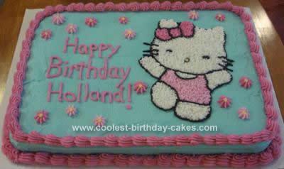 Astonishing Coolest Hello Kitty Cake Idea Birthday Cards Printable Benkemecafe Filternl