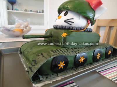 Homemade Hello Kitty Tanker Idea