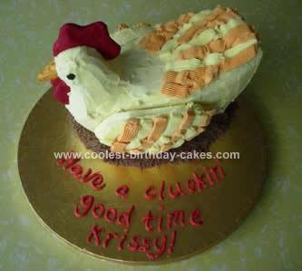 Homemade Hen Cake