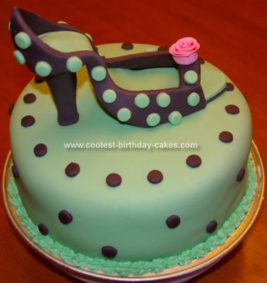 Homemade High Heels Cake