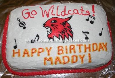 HSM Wildcats Cake