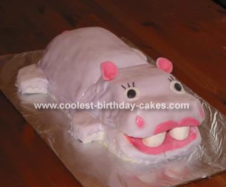 Margaret's Happy Hippo Cake