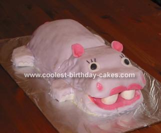 Margaret's Happy Hippo Cake