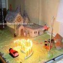 Homemade Hogwarts Birthday Cake