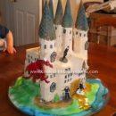 Homemade Hogwarts Birthday Cake Design