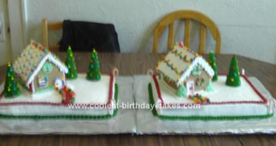Homemade Holiday Cakes