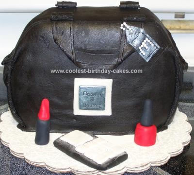Homemade Bag Birthday Cake