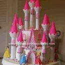 Homemade Castle Birthday Cake