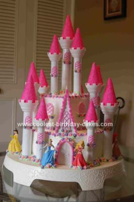 Super Coolest Homemade Castle Birthday Cake Funny Birthday Cards Online Alyptdamsfinfo