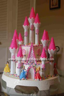 Coolest Homemade Castle Birthday Cake