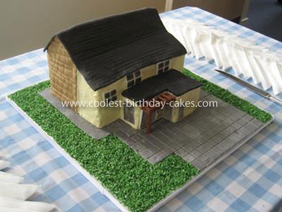 Coolest Homemade Cottage Cake