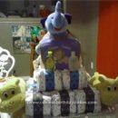 Homemade Elefun Diaper Cake