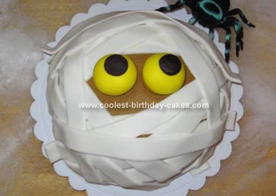 Homemade Mummy Cake