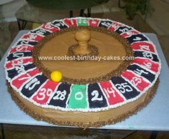 Homemade Roulette Cake