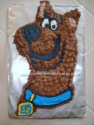 Fine Coolest Homemade Scooby Doo Birthday Cake Funny Birthday Cards Online Alyptdamsfinfo