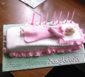 Fantastic Coolest Homemade Sleeping Beauty Birthday Cake Personalised Birthday Cards Paralily Jamesorg