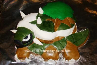 Homemade Torterra Cake