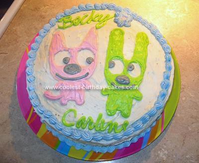 Homemade Hoops and Yoyo Cake