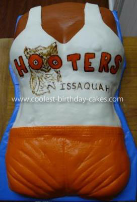 Coolest HOOTERS Cake