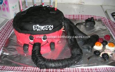 Homemade Hoover Vacuum Cake
