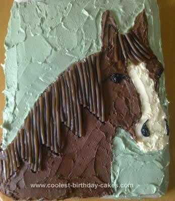 Sensational Coolest Horse Birthday Cake Design Birthday Cards Printable Giouspongecafe Filternl