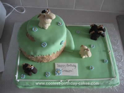Homemade Horse Birthday Cake Idea