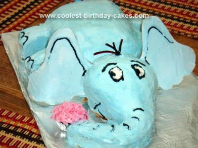 Homemade Horton Hears a Who Cake