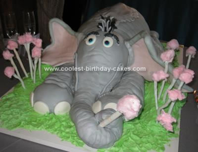 Homemade Horton Hears a Who Cake Idea