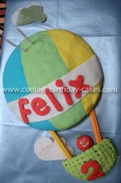 Coolest Hot Air Balloon Cake