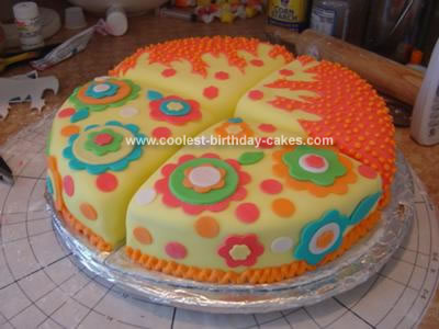 Homemade Hot Shower Cake