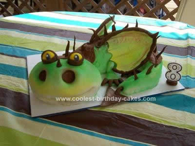 Superb Coolest Homemade How To Train Your Dragon Cakes Personalised Birthday Cards Veneteletsinfo